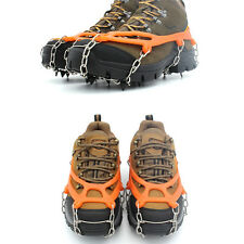 1Pair Ice Snow Climbing Gripper Anti-slip Shoe Cover Spike Cleats Crampons Teeth