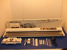Very Nice Knitking Compuknit V Knitting Machine Upgraded To Vcx Tested & Working
