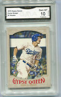 2016 Corey Seager Gypsy Queen Rookie Gem Mint 10 #7