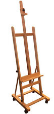 Adjustable H-Frame Art Artist Wood Studio Painting Easel, E016