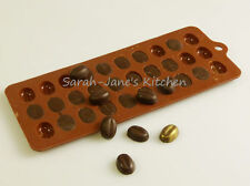 COFFEE BEAN Chocolate Candy Silicone Bakeware Mould Sugarpaste Cake Wax Melts