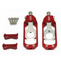Motorcycle Chain Tensioner Adjuster Aprilia RSV4 Factory 2009 2010 2011 2014 red