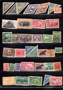 COSTA RICA ASSORTMENT OF 36 ITEMS GENUINE + DIFFERENT VERY NICE LOT #2021CR04