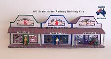 HO Scale Country Pharmacy Post Office Hardware Model Railway Building Kit CRS3b