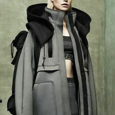 Alexander Wang H&M Unisex Soft Shell Down Feather Hooded Coat S