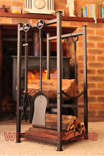RIPPLEBROOK Indoor Log Rack / Firewood Storage WOOD HOLDER Fireplace Accessories