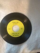"""45 """"Love Me Do/P.S. I Love You""""-The Beatles w/Picture Sleeve-Tollie #9008"""