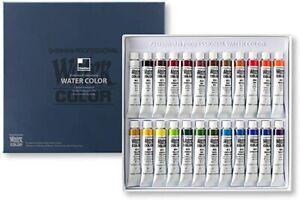 Shinhan Professional Watercolour Paint Set 7.5ml 24 Colors Artist Water Color