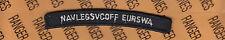 USN Navy Legal Service Office Europe-SWAsia NAVLEGSVCOFF EURSWA tab rocker patch