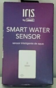 NEW IN BOX IRIS SMART WATER WHITE INDOOR FLOOD/WATER SENSOR With BATTERY