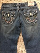 """True Religion Jeans Size 28 Style Bobby L 32"""" Bootcut"""