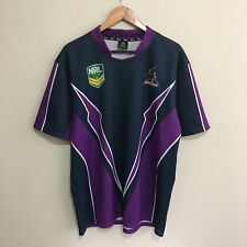 Melbourne Storm NRL Rugby Supporters Jersey Shirt 2004 Adult Mens XL