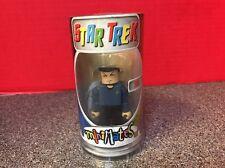 Star Trek Mr.Spock Minimate Figurine W/ Tube Packaging Art Asylum 2002