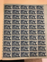 Texas Statehood 3 Cent Stamp Full Sheet 50 Stamps Scott #938 MNH OG  CV $18.00