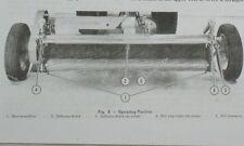 Massey Ferguson Mf-40 Hay Conditioner Crimper Pto Driven Owner's Manual