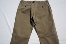 United Colors of Benetton Flat Front Cotton Twill Washed Chino Pants. Mens 34X32