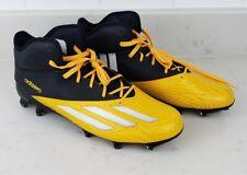 huge discount d4cb5 c7898 Adidas Adizero 5 Star 5.0 Mens Football Lacrosse Cleats Q16077 Yellow US  10.5