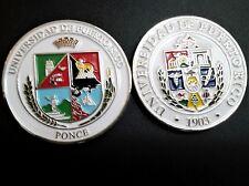 UNIVERSIDAD DE PUERTO RICO UPR PONCE University College  Campus medal Los LEONES