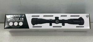Barska 3-9x32mm Blackhawk Rifle Scope w/Red/Green/Illuminated Mil-Dot & Rings!