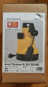 KSB AMA Drainer N 303 SE/NE Pumpe Tauchpumpe / Schmutzwasserpumpe