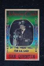 Johnny Cash Poster 1969 San Quentin The Statler Brother