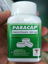 PARACETAMOL 500 MG 100 TABLETS PARACAP PAIN RELIEF FEVER PAIN FAST FREE SHIPPING
