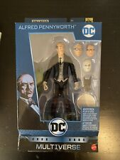 DC Multiverse Alfred Pennyworth Action Figure. New in unopened box with BAF