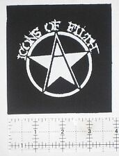 Icons of Filth Patch - Dystopia Crass Rudimentary Peni Nasum Hiatus Crust Punk
