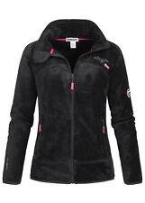 WR623F/GN Geographical Norway Damen Upaline Jacke Fleece Sweater Zipper Pockets