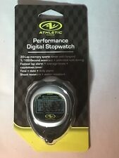 Athletic Works Performance Digital Stopwatch 30-Lap Memory Sports Timer