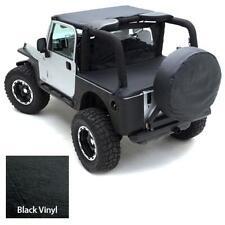Standard Soft Top 55-75 Jeep CJ5 M38A1 Vinyl BLK Smittybilt 90501