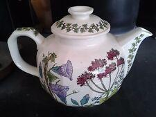 POOLE Campden Collection Ferndown teapot floral design by G. Breeze