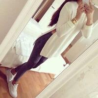 Damen Pullover Pulli Strick Langarm Sweater Herbst Oberteil Shirt NEU TOP BC223