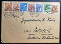 1948 Langelsheim Germany Allies Occupation Stamps Cover