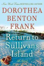 Return to Sullivan's Island by Dorothea Benton Frank, NEW Autographed Signed