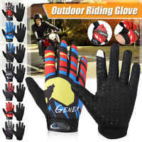 Outdoor Riding Gloves Windproof Breathable Warm Full Finger Mittens Touch