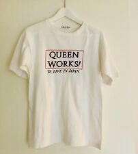 QUEEN - VINTAGE ORIGINAL 1985 TOUR T-SHIRT JAPAN WORKS (never worn, promo lp cd)