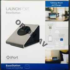 iPort LaunchPort BaseStation Charger for iPad Base Station Silver New