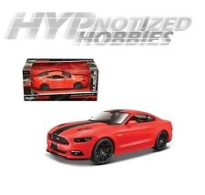 MAISTO 1:24 2015 FORD MUSTANG GT DIE-CAST RED 31369