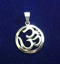 Finest Quality 925 Sterling Silver Om / Aum  Pendent  For  Gift