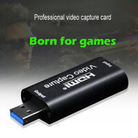 HDMI Video Capture Card USB 3.0/1080p HD Recorder for Video Live Streaming/Game
