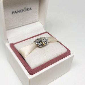 Genuine PANDORA Happy Crab Silver/14K Gold Charm - 791135