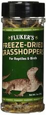 Fluker's 72018 Freeze-Dried Grasshoppers Reptile Food 1 oz