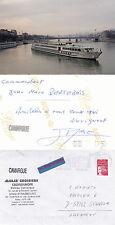 NAVE DA CROCIERA francese Camargue un Navi inseriti nella cache COPRI e Vera fotografia