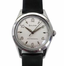 Vintage 50's Bulova Unusual Construction Case Automatic Sport Men's Watch