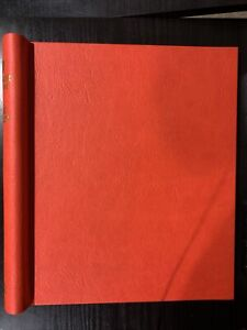 Stanley Gibbons Windsor Stamp Album Red Binder