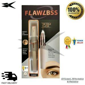 Women's Painless Mini Electric Eyebrow Hair Trimmer Epilator Remover Shaver