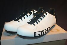 Giro Empire ACC White Road Cycling Shoes, Three 3 Bolt System, New in Box