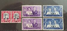 SOUTH WEST AFRICA  1947 Mi.Nr. 252/257 pairs