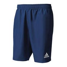 adidas Tiro 17 Woven Short Hose kurz Blau Weiss